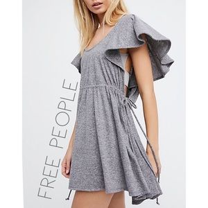 Free People Beach gray swimsuit cover up tunic M